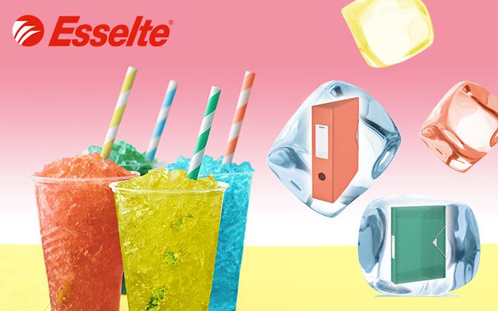 Акция Esselte Colour'Ice